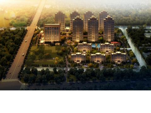 魅力花园颐养中心位于上海浦东南汇的香树湾养老社区内。