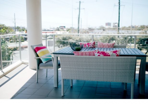 Azure Blue Redcliffe -1 Bedroom Apartment
