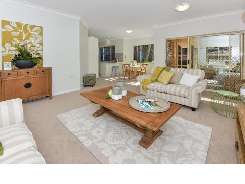 Spacious unit in premier retirement living location