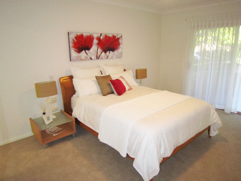 Two bedroom serviced apartment available now!