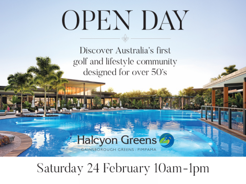 Saturday 24 February from 10am to 1pm is the inaugural Open Day at Halcyon Greens!