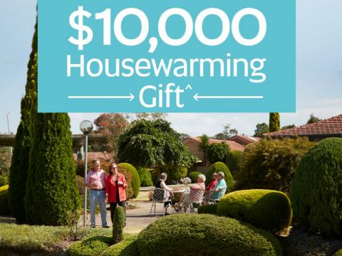 $10,000 Housewarming Gift* at Aveo Oak Tree Hill