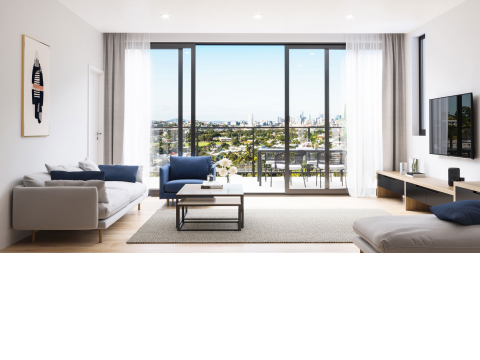Top floor apartment with city views - The Atrium Lutwyche