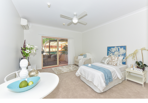 Location and affordability sum up this delightful serviced apartment.