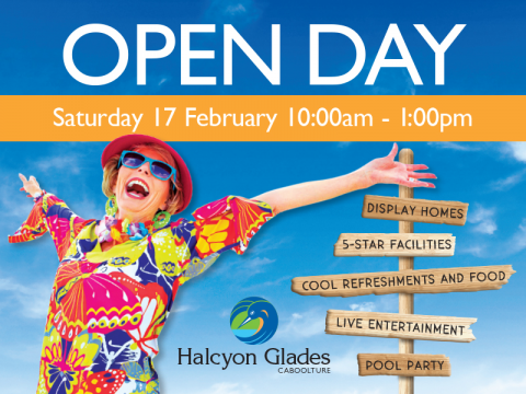 Join us at our Open Day Saturday 17 February