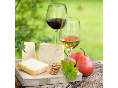 Join us in our first ever 'Wine & Cheese' evening....