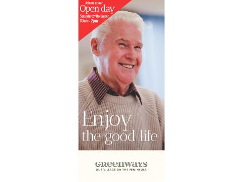 Greenways Village - OPEN DAY!