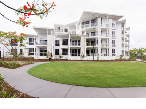 Exceptional retirement living in a relaxing location