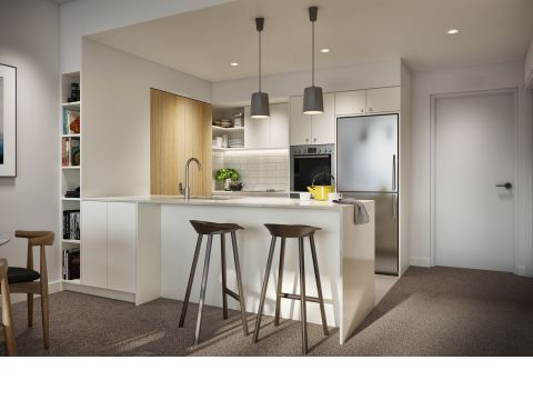 Studio, 2 and 3 Bedroom Independent Living Apartments from $395,000