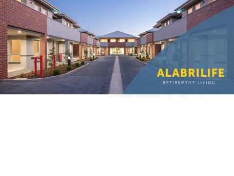Spacious 2 & 3 bedroom apartments at Alabrilife Village