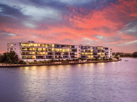 Resort style retirement on the waterfront