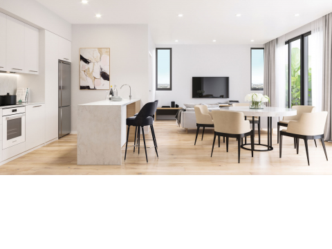 Boutique living surrounded by like-minded people