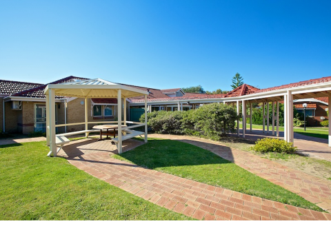 Kinross Care Centre, in Perth's northern suburb of Kinross, is a secure specialised dementia care centre.