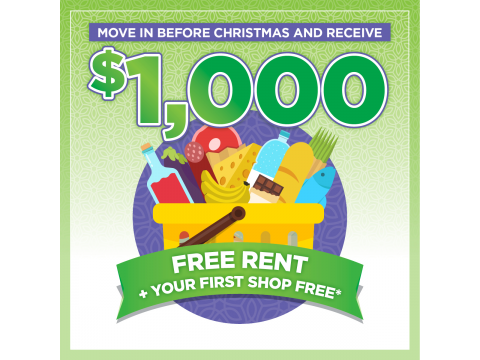 Make the move this Christmas to Ingenia Gardens Sovereign for $1,000 Rent Free*