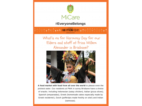 Harmony Day Food Stalls and Cultural Activities