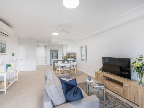 Secure ground floor apartment now available!